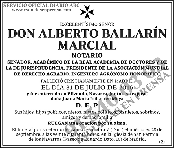 Alberto Ballarín Marcial
